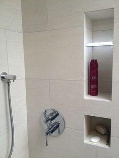 Westridge Master Ensuite - West Vancouver - modern - bathroom - vancouver - John Whipple - By Any Design ltd. Shelf area in bathroom Taupe Bathroom, Timeless Bathroom, Bathroom Renos, Modern Bathroom, Bathroom Ideas, Bathroom Designs, Bad Inspiration, Bathroom Inspiration, Shower Niche