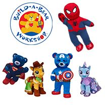 Build-A-Bear Workshop® now offers you the opportunity to bring your child in for a day of interactive fun making their own stuffed animal friend. You can choose, stuff, stitch, fluff and dress your new furry friend. Click this pin for $5 off a purchase of $25 or more!