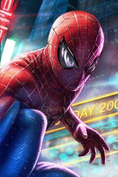 Spider-Man by Aaim_art.