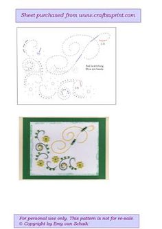 ED P The letter P on Craftsuprint designed by Emy van Schaik - Stitching with beads - Now available for download!