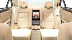 2014 Mercedes-Benz E-class six-door limousine interior