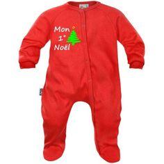 Pyjama bébé Noël : MON 1° NOËL