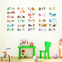 Alphabet & Animals Nursery Wall Stickers <you can also buy this product in Amazon> https://www.amazon.com/Decowall-DW-1308-Alphabet-Animals-Stickers/dp/B00FLWTPBW/ref=sr_1_1_a_it?ie=UTF8&qid=1494856846&sr=8-1&keywords=decowall+1308