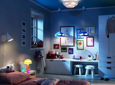 Kids Room Lighting Cool Rooms Small Lights
