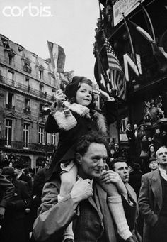VE Day in Paris - - Rights Managed - Stock Photo - Corbis Rich Image, Music Licensing, Historical Images, Paris Travel, More Pictures, Back In The Day, Photo Library, Royalty Free Photos, World War Ii