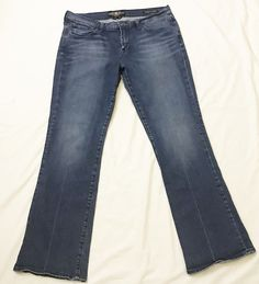 Lucky Brand Womens Jeans size 12 / 31 Sweet' N Low 7W10843 Distressed #LuckyBrand #BootCut #fashion #style #3ds #vintage #shopping #clothing #ebayseller #abestbra #instagood #fashionista #paypal #toys #ebaystore #vinyl #holidaygifts #collectibles #vinyligclub #dress #accessories #pokemon #art #ootd #mens #shoes #instadaily #shop #selling
