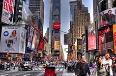 Times Square - 30 Incredible HDR Photos of New York City