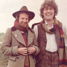 Tom Baker on location filming The Power of Kroll 1978
