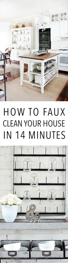 How to Faux Clean Yo