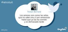 El #retrotuit de hoy, por Tristan Bernard ;) #FelizViernes