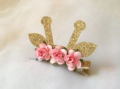 Your place to buy and sell all things handmade Felt Headband, Headbands, Kids Hair Bows, Ear Hair, Hair Ribbons, Ribbon Wrap, Animal Ears, Party Hairstyles, Baby Bows