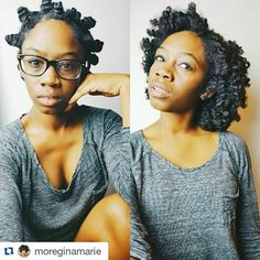 Bantu knot out - natural hairstyles journey http://www.shorthaircutsforblackwomen.com/hair-steamers-for-natural-hair/