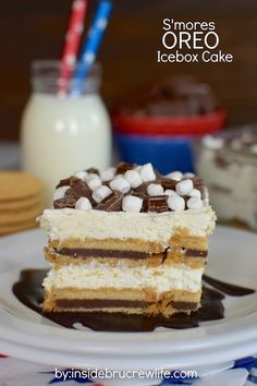 Independence Icebox Cake Recipe — Dishmaps