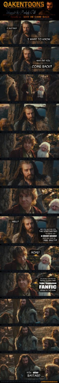 Oakentoons 34. I love how Thorin looks second to last.