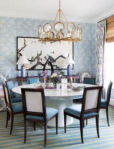 Kristin Gish Home Tour: Colorful Wallpaper Bungalow in Austin, Texas