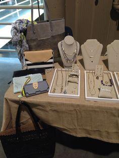 Stella & Dot stylist trunk show display. Stelladot.com/sites/kkenagy