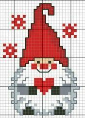Source by 45 Ideas Embroidery Christmas Patterns Navidad heart gnome cross stitch. New No Cost Embroidery Designs with beads Popular Thank you for visiting hands adornments! Embroidering can be quite a enjoyable artistic shop to main Pinguin Xmas Cross Stitch, Cross Stitch Charts, Cross Stitch Designs, Cross Stitching, Cross Stitch Embroidery, Embroidery Patterns, Embroidery Bags, Scandinavian Gnomes, Scandinavian Christmas
