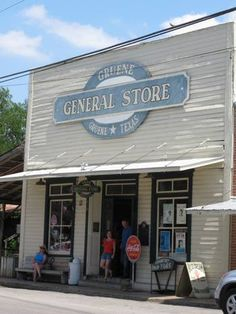 Browse the General Store in Gruene, Texas for a nostalgic trip back in time.