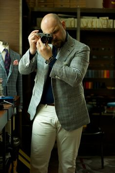 Orazio Luciano for Summer The Armoury White Denims & Hi-Top ((love how he is dressed, my idea of how a handsome man should dress))