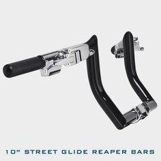 HHI Street Glide Reaper Bars, available in chrome or black finish and in heights from 8 Harley Bagger, Bagger Motorcycle, Motorcycle Wheels, Custom Baggers, Custom Harleys, Custom Motorcycles, Harley Davidson Iron 883, Harley Davidson Street Glide, Vrod Muscle