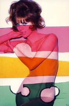 vintage pin up / psychedelic / 60's mod / erotica / retro ) The 60s were all about being free and sex, sex, sex - think  Woodstock.
