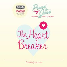 Are you the Heart Breaker? Flirtatious and fun, you wear your heart on your sleeve. #PruneforJune