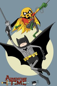 Adventure Time in Gotham!