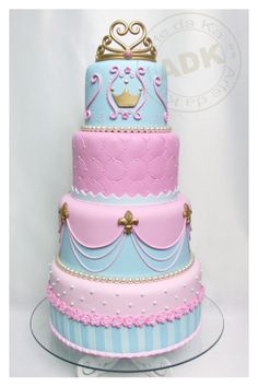 Whether you want to call this cake Princess or Sleeping Beauty, it's perfect #ArteDaKa