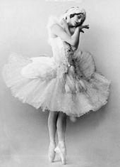 Anna Pavlova (danseuse) — Wikipédia
