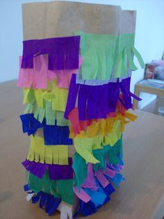 Cinco de Mayo Craft: Make a Paper Bag Pinata