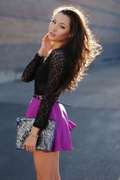 :::: Luv to Look ::: Style | Hair | Makeup | Trends | Beauty | Fashion: Plum and black