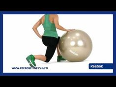 Possibly the most versatile piece of gym equipment - the gymball. This workout programme provides a total body workout utilising a variety of positions to wo. Ball Workouts, Fitness Motivation Quotes, Total Body, Get Healthy, Workout Programs, Workout Videos, Stability, Reebok, Healthy Lifestyle