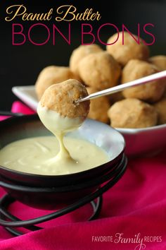 These Peanut Butter Bon Bons are SO addicting! They are so good on their own, but dipping them in any flavor of chocolate makes these over the top! They make such a yummy dessert!