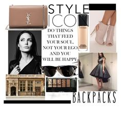 """DressyWomen38"" by graca95 ❤ liked on Polyvore featuring Ray-Ban, Boohoo, MAC Cosmetics and Yves Saint Laurent"