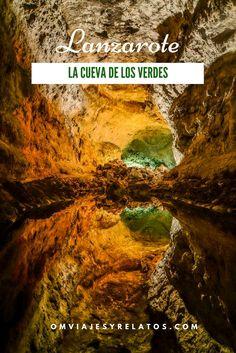 """Lanzarote: La cueva de los verdes, consejos para visitar """"El Túnel de la Atlántida"""".....#Lanzarote #Lacuevadelosverdes"""