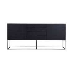 Shop online this Modern Designer Black Ash Balmain Buffet/Sideboard. Perfect for complementing bedrooms, dining rooms, and open plan living spaces.