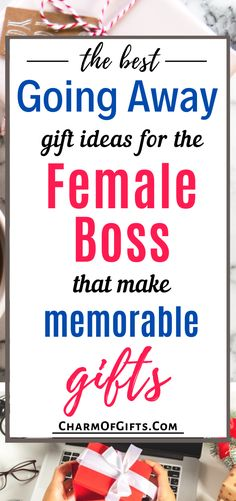 Finding a memorable going away gift for a parting coworker is not an easy task. If you are looking for an excellent gift for your boss who is leaving then check out these ideas that are full of interesting ideas for every kind of boss.