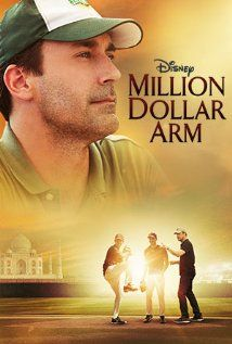 Million Dollar Arm (2014) A sports agent stages an unconventional recruitment strategy to get talented Indian cricket players to play Major League Baseball.