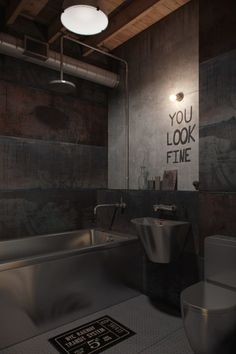 63 meilleures images du tableau style industriel salle de bain industrial style industrial. Black Bedroom Furniture Sets. Home Design Ideas