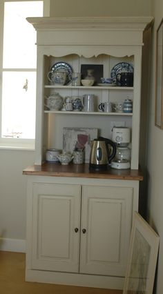 French Flair Coffee Dresser with 35mm medium stained Pine top