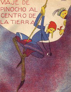 Salvador Bartolozzi, Spanish Pinnochio comic, 1920-30s