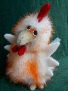 Cockerel, toy, glove puppetry home. Cool toys from Estrina's featured crafter by Olga Makarova.  See my others toys here:  http://estrina.com/etc/es-user/u125/p179 ~~~~~~~~~~~~~~~~~~~~~~~~~~~~~~~~~~~ #puppet #toys #cockerel #glovepuppet #handmade #gift #giftideas #forkids #handmadeideas #unique #handycraft #estrina #ручнаяработа #etsylisting #хендмейд #сделайсам #естрина #подарок #подарокручнойработы #своимируками #etsy #ярмаркамастеров #рукоделие