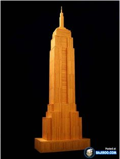 32 Pictures of Amazing Toothpick Art