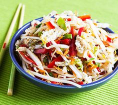 Thrifty Foods - Recipe - Hot, Sweet and Sour Mixed Vegetable Slaw with Chia