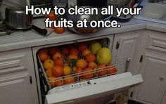 Throw them all in the dishwasher with some vinegar for a couple of minutes!
