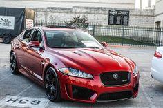 Jaguar XFR-S. Total swag on Sundays
