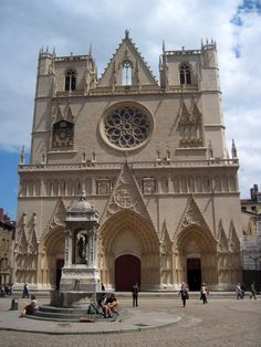 The Gothic cathedral of St. John the Baptist dates back to the 1200s.