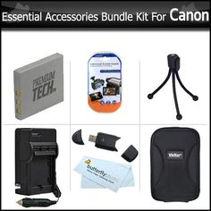 Hot New Release! Essential Accessories Bundle Kit For Canon PowerShot ELPH 330 HS, ELPH 100 HS , ELPH 300 HS ELPH 310 HS 12 MP Digital Camera Includes Extended (900 maH) Replacement Canon NB-4L Battery   AC/DC Travel Charger   Hard Case   LCD Screen Protectors   More -  ButterflyPhoto has Offered Top quality products for all digital cameras for over 15 years. Every product is guaranteed to work 100% perfectly and is 100% Brand New in its original Package. Each item includes a Full Worldwide…