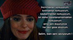Ama seni düşününce her şeyi göze alıyorum. Selim, ben seni seviyorum ! #ŞebnemKıskanırsa #KaçakGelinler