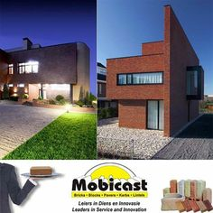 Build your ultimate dream home with brick, blocks, pavers and kerbs from Mobicast. we have a variety of building blocks. We have a large range of blocks in the Southern Cape. #dreamhome #pavers #mobicast